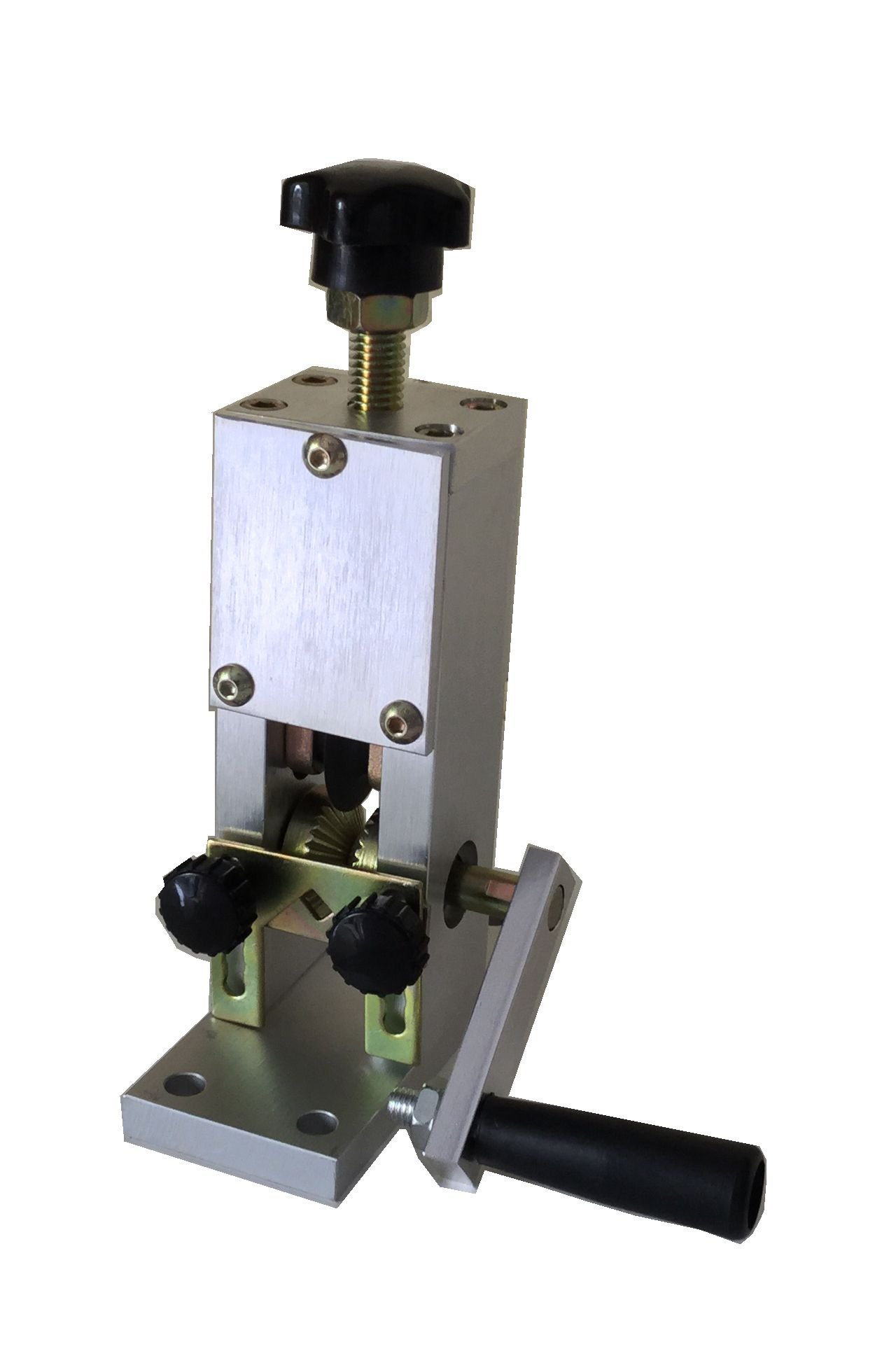 Drill Operated Copper Wire Stripper, for Both Hand Crank and Drill Operated