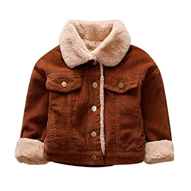 21968ebca Amazon.com  Hatop Toddler Baby Boys Girls Winter Solid Coat Cloak ...