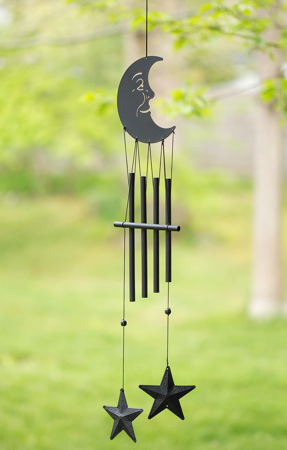 Sun Great Sound Bronze Color Temple Bells Wind Chimes Windchimes Yellow