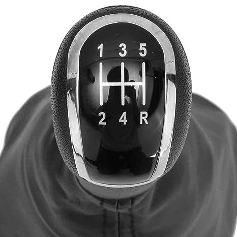 5 Gang Schaltknauf Schalthebel Für Mercedes A Klasse W168 Schaltmanschette Leder