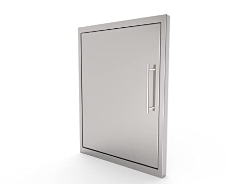 BBQ ACCESS DOOR *NEW STYLE*Elegant/17 By 24 Inch/ 304 Grade