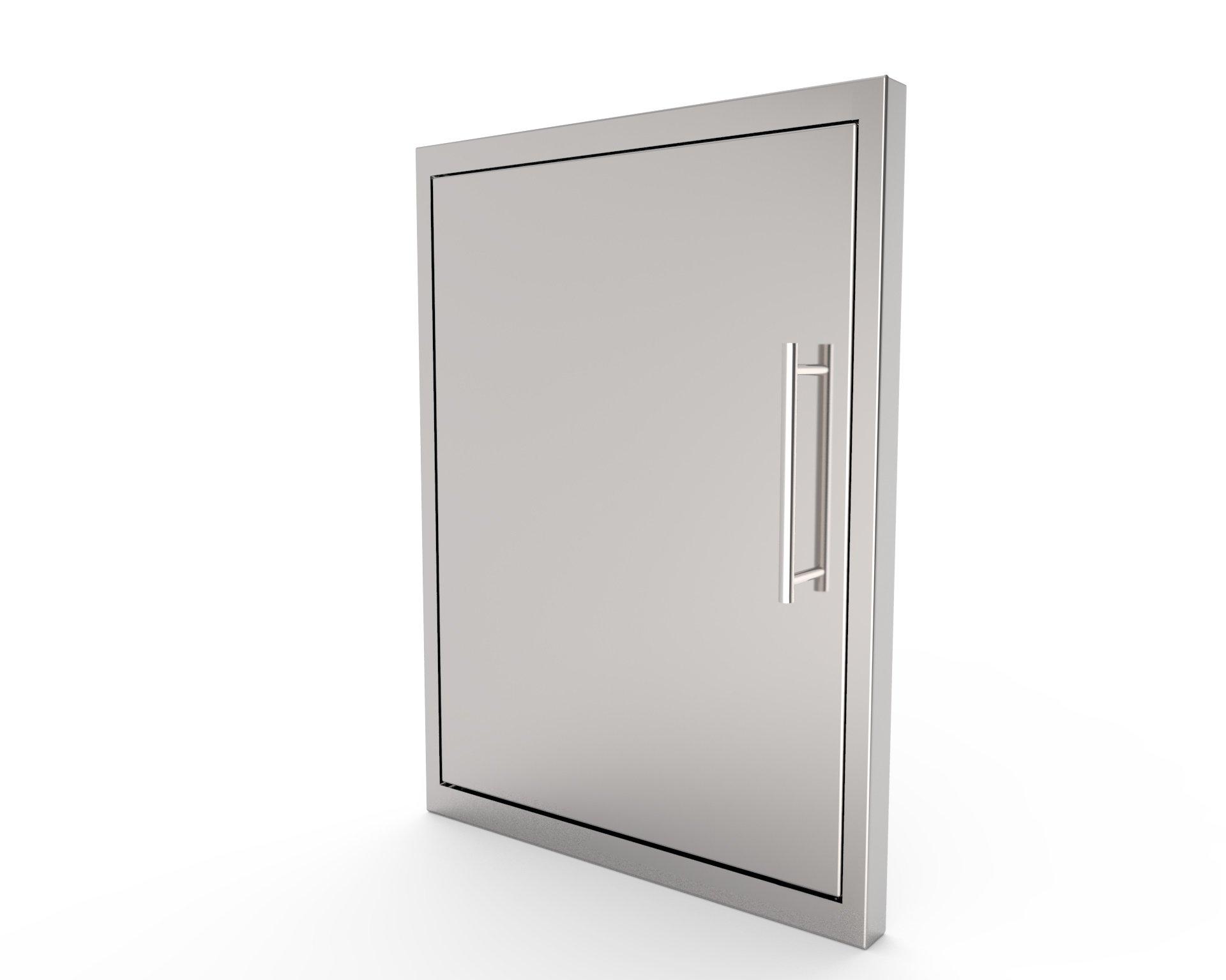 BBQ ACCESS DOOR NEW STYLE/Elegant/16 By 22 Inch/ 304 Grade Stainless Steel Bbq Island/Outdoor Kitchen Access Doors