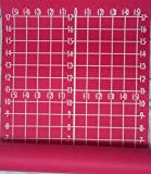Yoga Matrix Mat Complete Alignment Symmetry Lines Numbers Measure - Deluxe Extra Thick Extra Long 74'' x 24'' x 1/4