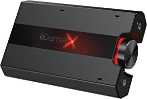 Creative Sound BlasterX G5 7.1 Headphone Surround HD Audio External Sound Card with Headphone Amplifier for Windows PC / Mac / PS4 / and Other Consoles