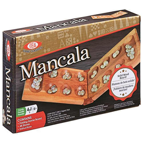 Ideal Classic Mancala Board Game -