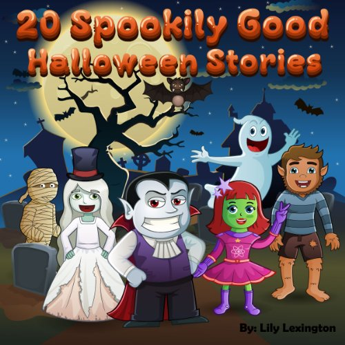 20 Spookily Good Halloween Stories for Kids 3-7 -