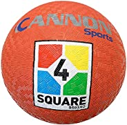 Cannon Sports Red 4-Square Utility Playground Ball
