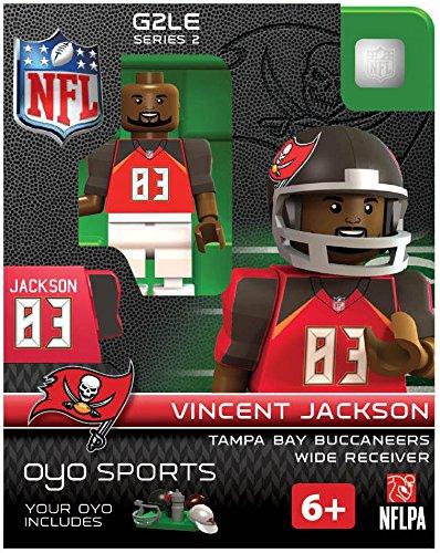 NFL Tampa Bay Buccaneers Vincent Jackson Gen 2 Mini Figure, Small