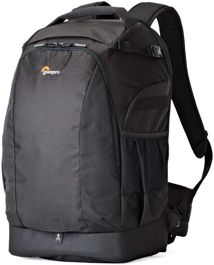 Lowepro LP37131, Flipside 500 AW II Camera Backpack, Fits Mirrorless, Compact Drone, DSLR with Lens, Extra Lenses, Black