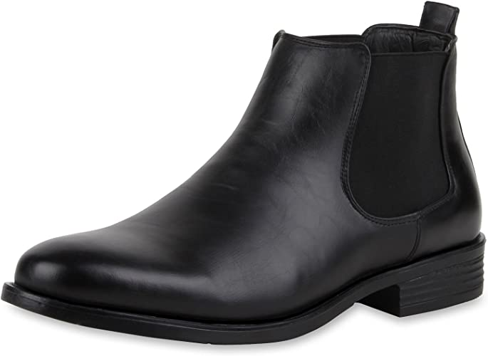 doublé Boots VITA Botte SCARPE Chelsea Homme 9WDIbEHYe2