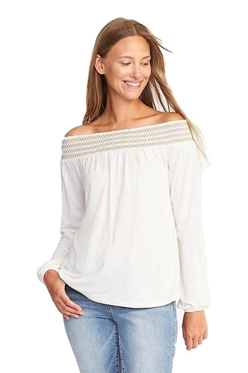 e36275a21 Relaxed Off-The-Shoulder Top for Women XXL! at Amazon Women s ...