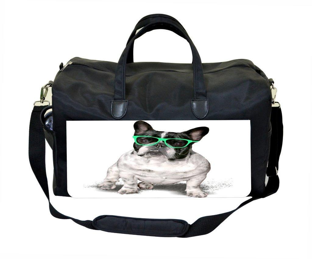 Pug in Glasses Weekender/Overnighter Bag