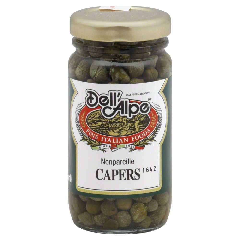 Dell' Alpe Nonpariel Capers 3.0 OZ (Pack of 12)