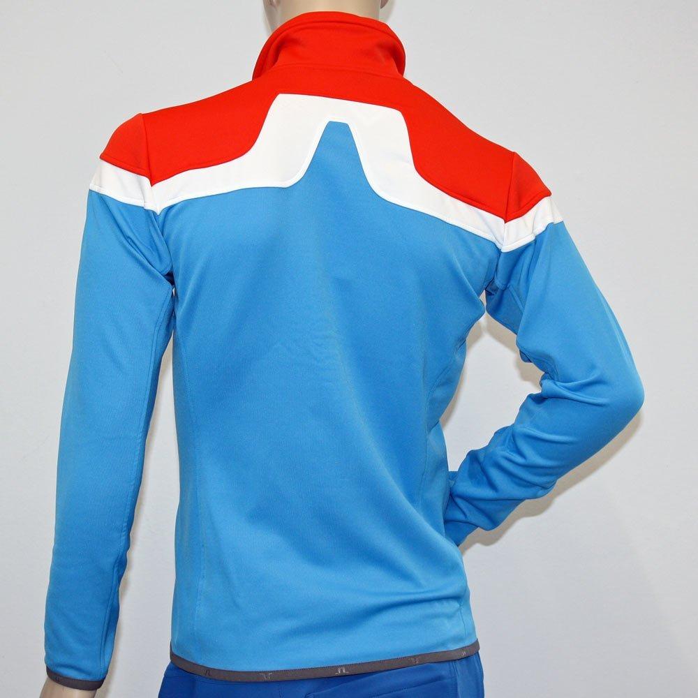 J. Lime Mountain Jersey Lifestyle Jacket Huxley Mens Dk Coral 3741?S