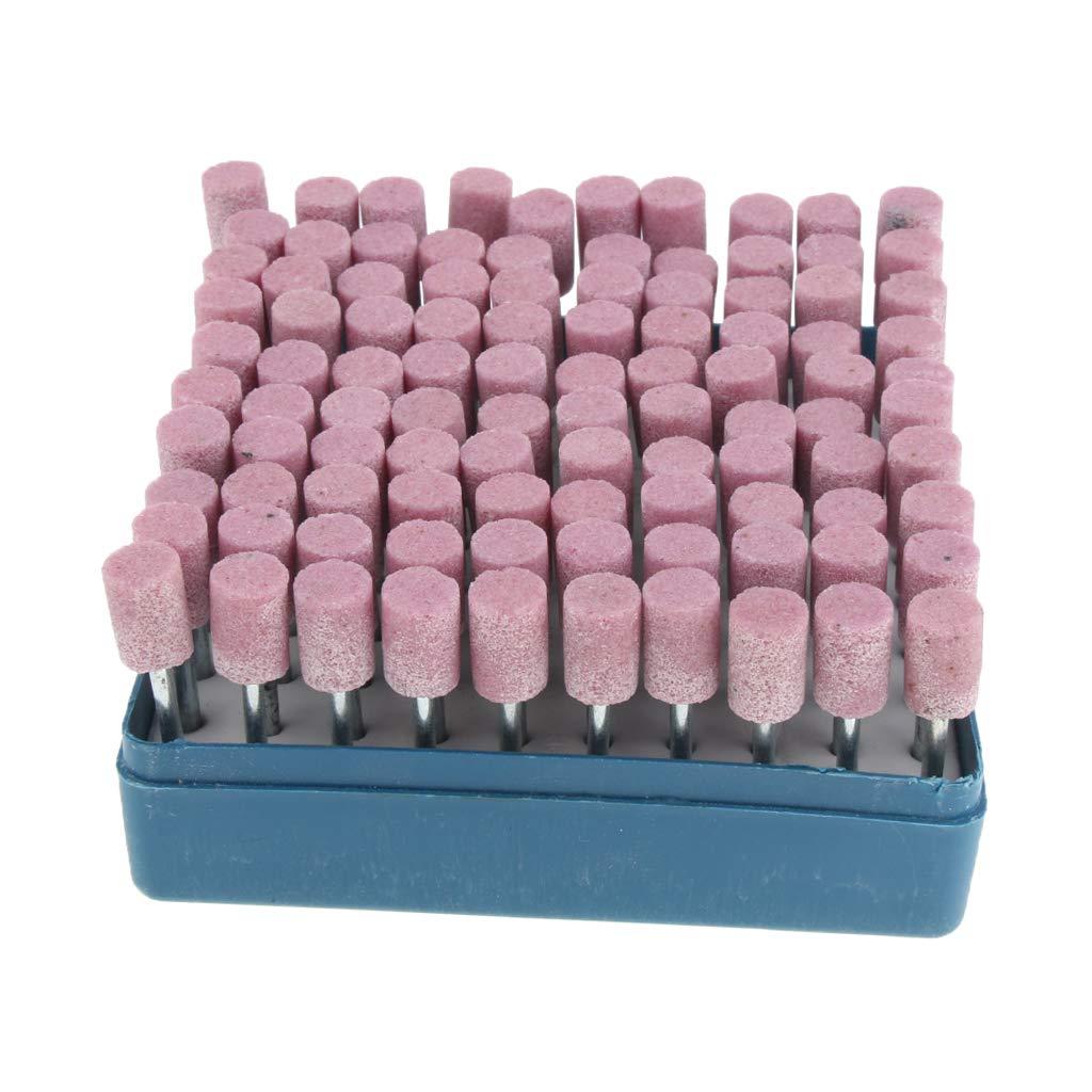5mm violet perfk 100pcs Bavures Meulage de Pr/écision pour lAff/ûtage Rapide et Facile des Lames de Tron/çonneuse