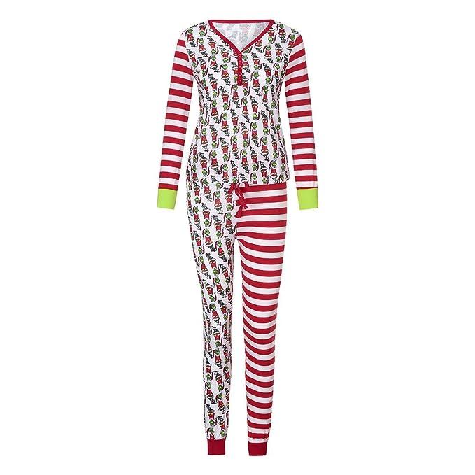 Amazon.com: Inverlee - Conjunto de pijamas de Navidad a ...