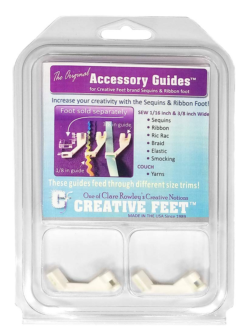 Creative Feet Accessory Guide Set for Sequins N Ribbon Feet by Creative Feet