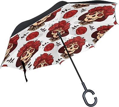 Parapluie tête de mort 8