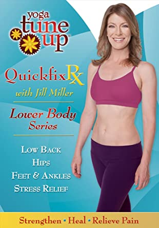 Yoga Tuneup Quick Fix Rx: Back Hips Ankles & Feet Reino ...