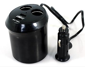 Kühlschrank Auto Zigarettenanzünder : Smo usb kfz auto adapter sockel zigarettenanzünder: amazon.de: auto