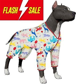 Amazon.com: LovinPet - Pijama para perro grande de 100 ...