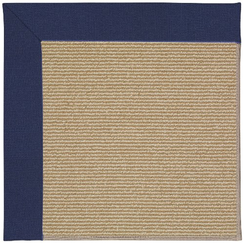 4' x 4' Octagonal Made-to-Order Oscar Isberian Rugs Area Rug Navy Color Machine Made USA