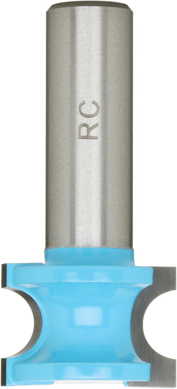 Roman Carbide DC1033 11//8-Inch Bull Nose 1//2-Inch Shank