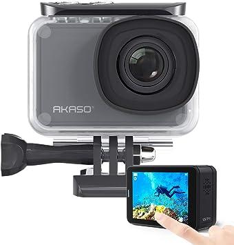 Amazon.com: AKASO V50 Pro SE 4K/60fps Cámara de acción WiFi ...