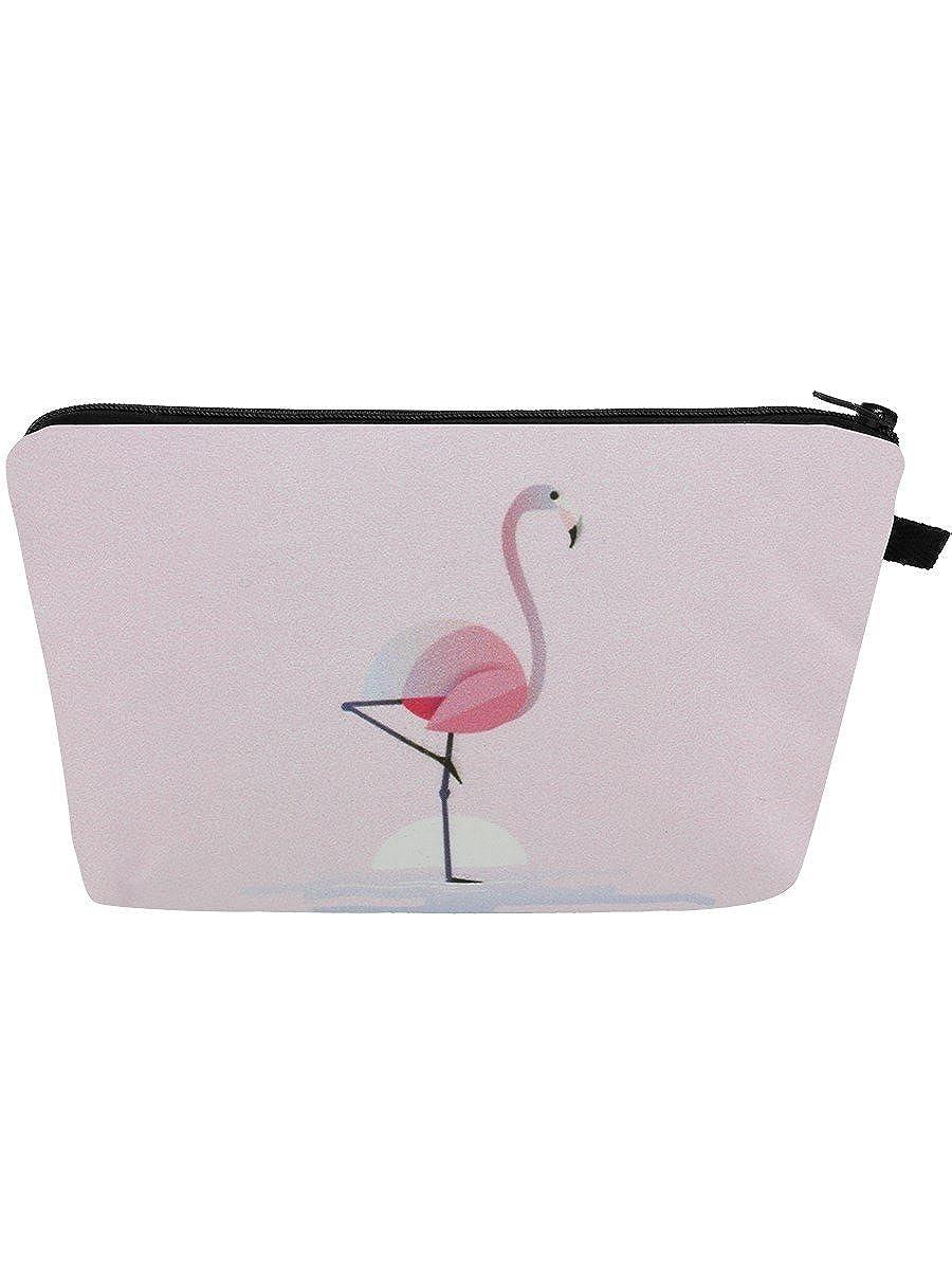 Flamingo Pink Make-up Bag 22x13.5x3cm