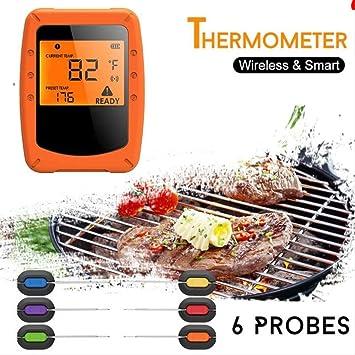 Kabellose Fernthermometer BBQ Food Kochen Fleisch Grill Digitale