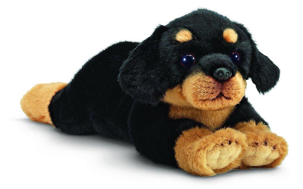 "Bearington Gunner Rottweiler Plush Stuffed Animal Puppy Dog 15"" Bearington Collection"