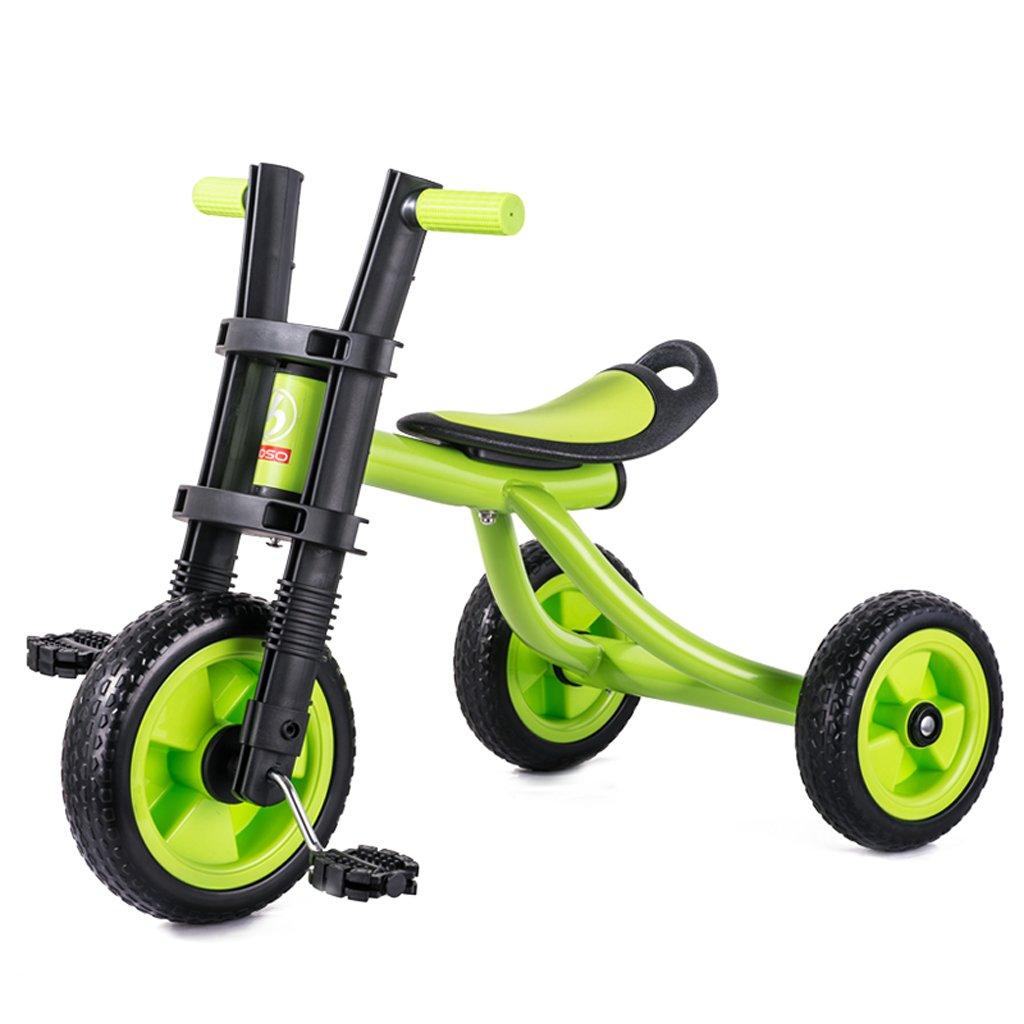 Xiaoping Triciclos para niños, bicicletas (Color : Green)