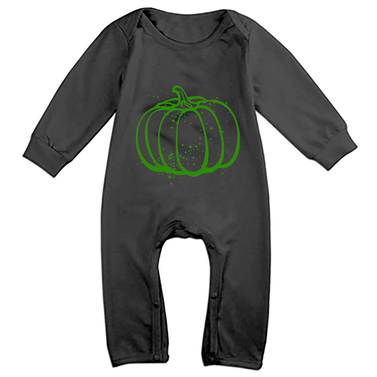 Faneilme Baby Pumpkin Spice Bodysuits Rompers Outfits Summer Clothes,Long Sleeve