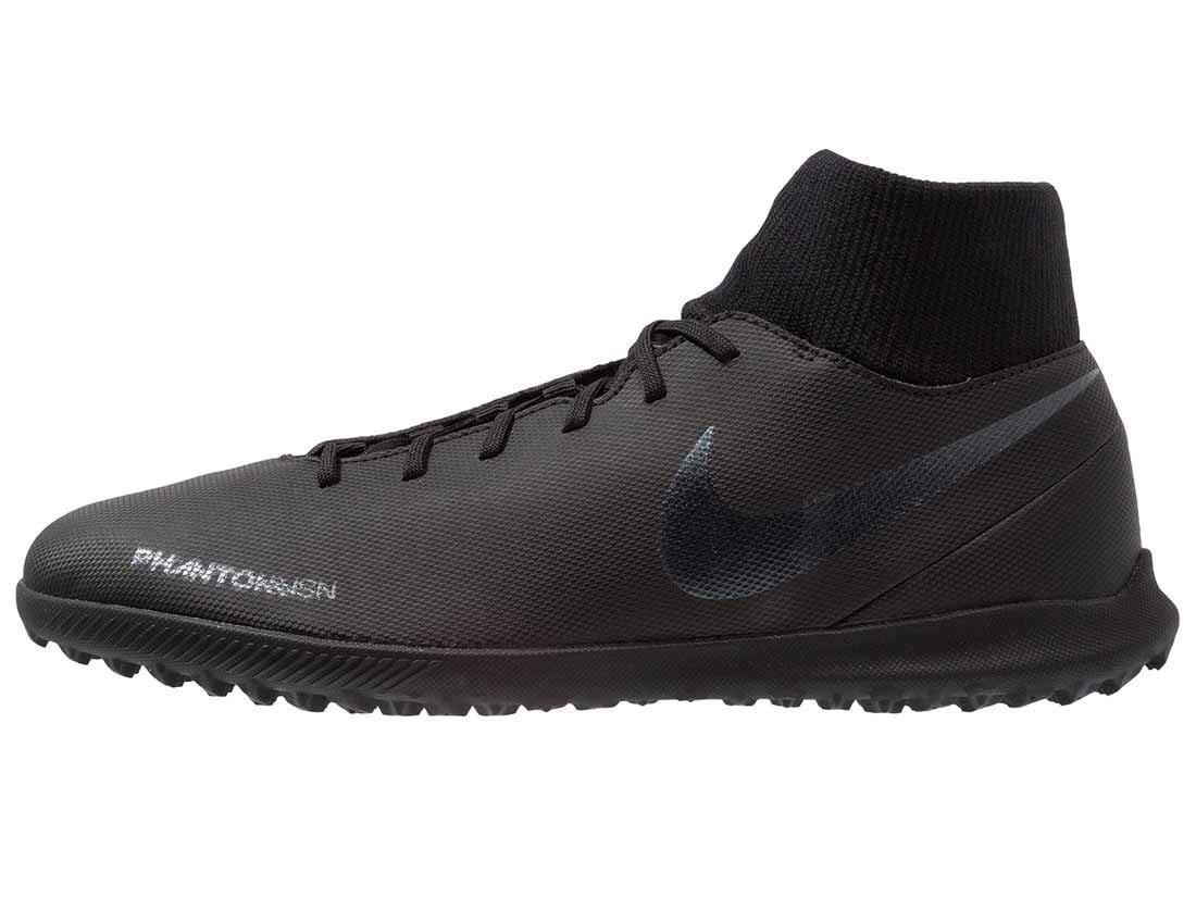 Nike Phantom Vsn Club DF TF, Zapatillas Unisex Adulto 43 EU|Negro (Black/Black 001)