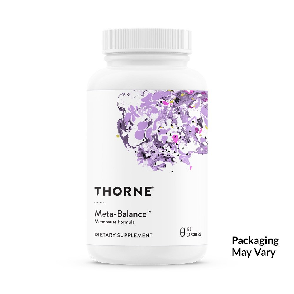Thorne Research - Meta-Balance - Nutritional Support for Women During Menopause - 120 Capsules