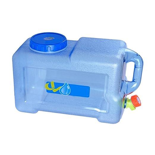 BPA-frei Kunststoff Auto Wassertank Camping Outdoor BBQ und Lange Reise etc,10L 15L 18L Tragbarer Wasserkanister mit festmontiertem Ablasshahn//Wasserauslauf