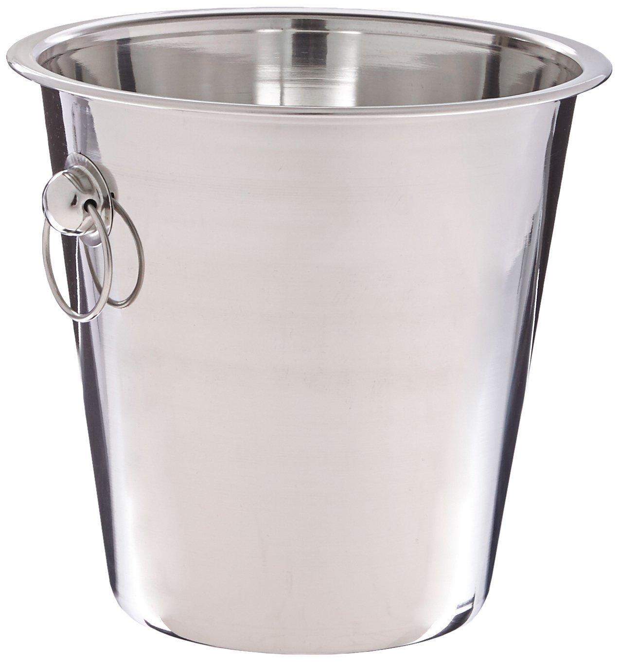 Winco WB-4 4 Quart Wine Bucket by Winco