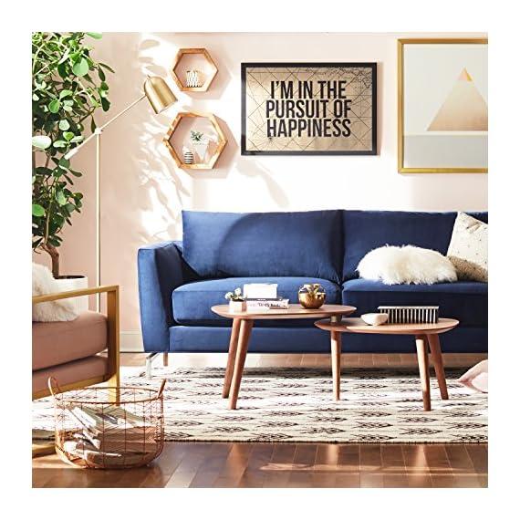Rivet Arrow Wool Area Rug -  - living-room-soft-furnishings, living-room, area-rugs - 61CS1mx 0sL. SS570  -