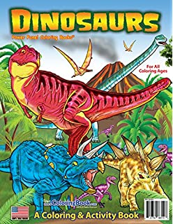 Dinosaurs Coloring Book 85x11