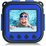 [Upgraded] PROGRACE Kids Waterproof Camera Action Video Digital Camera for Kids 1080P Camcorder for Girls Boys Toys Gifts Bui