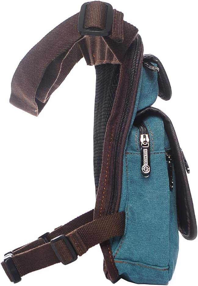 Nylon T/áctica Bolsa De Pierna para Hombre Mujere Motocicleta Crossbody Hombro Bolso de Cintura Ri/ñonera Fanny Pack Paquete Montar Viajes Senderismo Ciclismo T/áctico Bag
