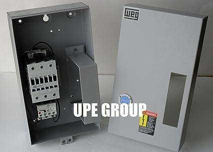 Motor Starter 20HP 3PH control de motor de arranque magnético de 230 V de GE General