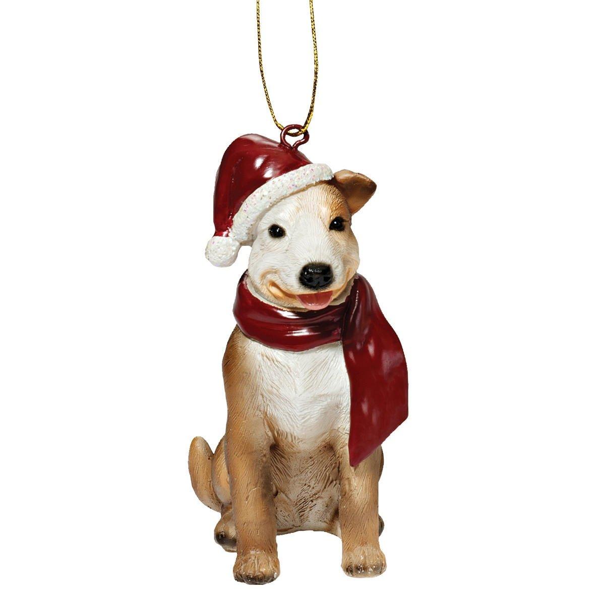 Amazon.com: Christmas Ornaments - Xmas Pitbull Holiday Dog Ornaments ...