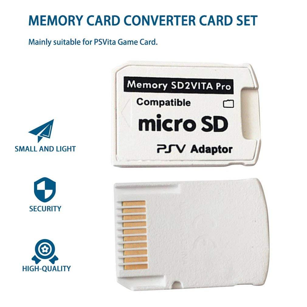 Queenaal Versión 5.0 SD2VITA Adaptador de Memoria para PS ...