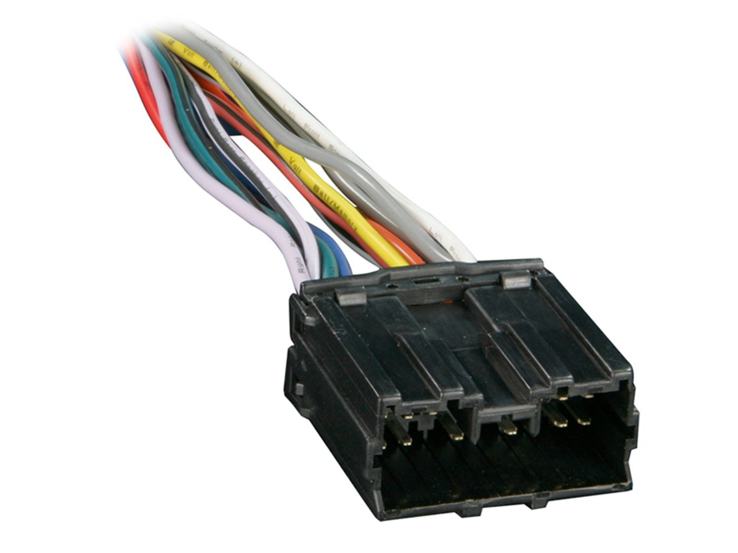 Metra 70 7001 Radio Wiring Harness For Mitsubishi 1992 2008 Lancer 18 Wire Stereo Diagram Up Car Electronics