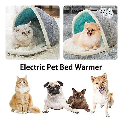 fllyingu Cojín de calefacción para Mascotas Colchoneta ...