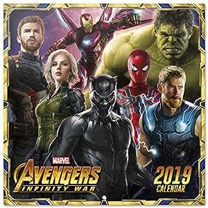 Grupo Erik Editores CP19037 - Calendario 2019 Marvel