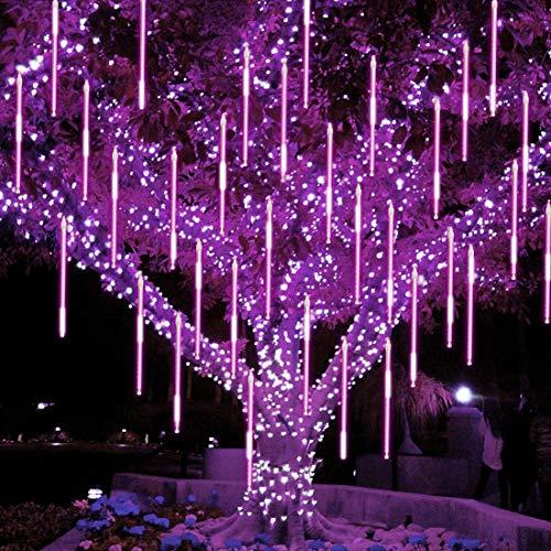 288 192 LEDs Meteor Shower Rain Lights Tree Lamp String Light Xmas Party Decor