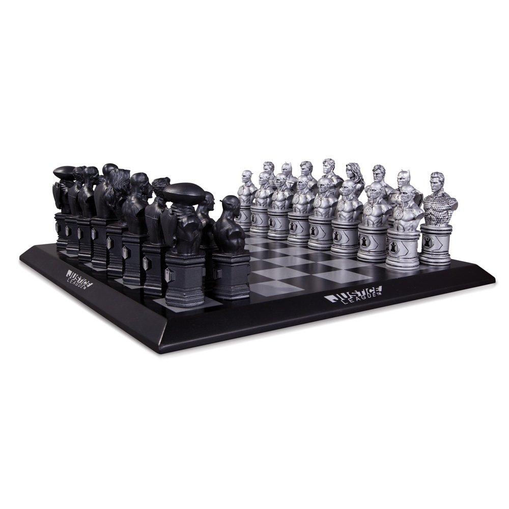 海外最新 DC DC Collectibles B00CQKR9HY Justice League League Chess Set B00CQKR9HY, 藤代町:dab344d7 --- arianechie.dominiotemporario.com