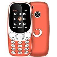 """Brigmton 4430040424 - Teléfono móvil Dual SIM (Pantalla de 1.77"""", Bluetooth, cámara de 0.8 MP, MicroSD hasta 8 GB) Color…"""